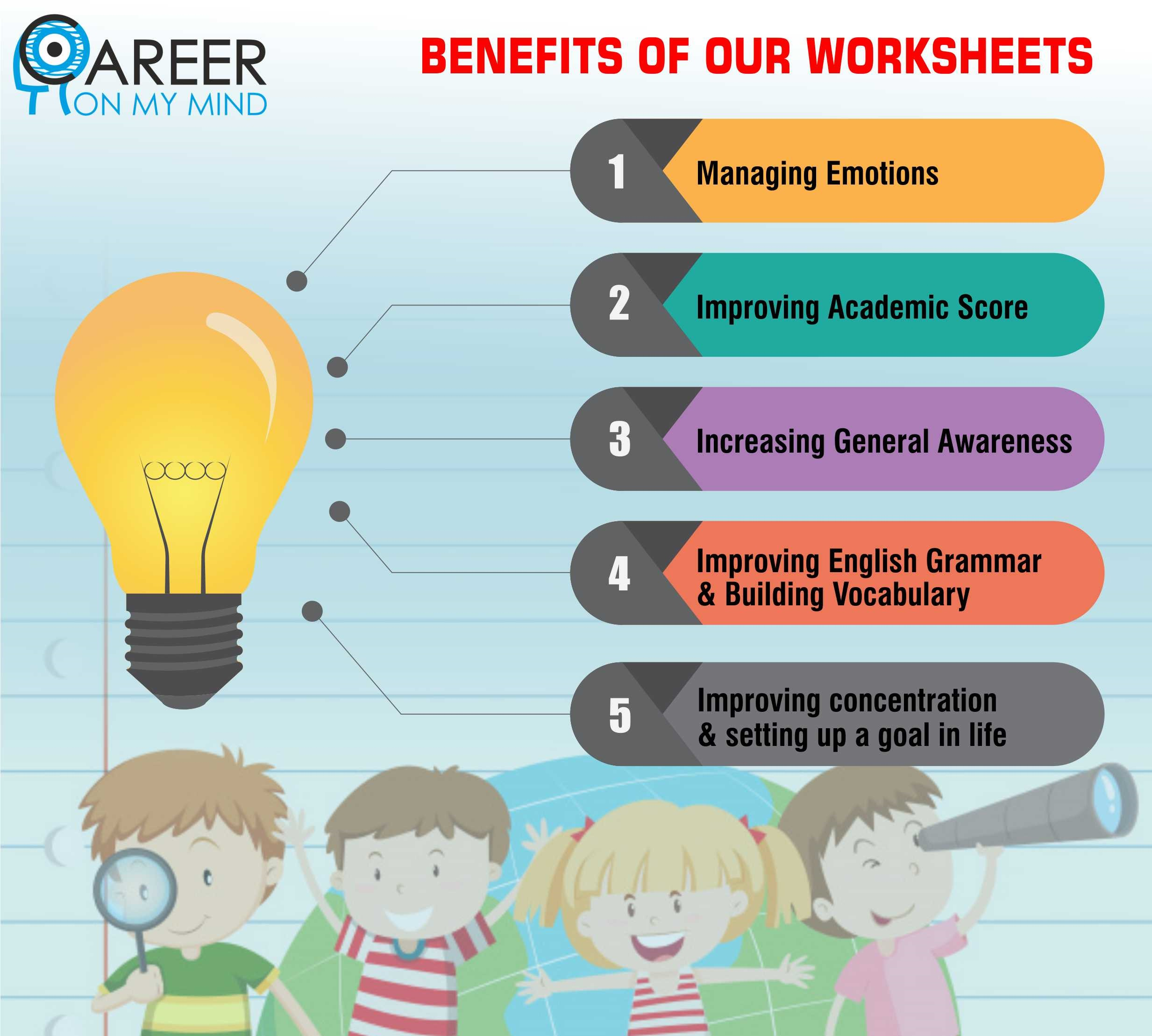 WORKSHEETS ON ENGLISH LANGUAGE SKILLS